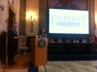 "Il Professor Chris Carr, Fulbright Distinguished Chair in Business, alla ""Parthenope"""