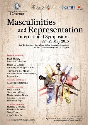 "Intervista a Giuseppe Balirano, Coordinatore Scientifico del Simposio ""Masculinities and Representation"""