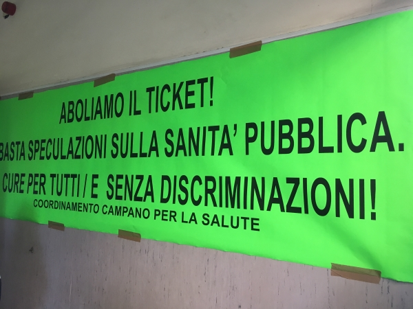 No al ticket al San Giovanni Bosco